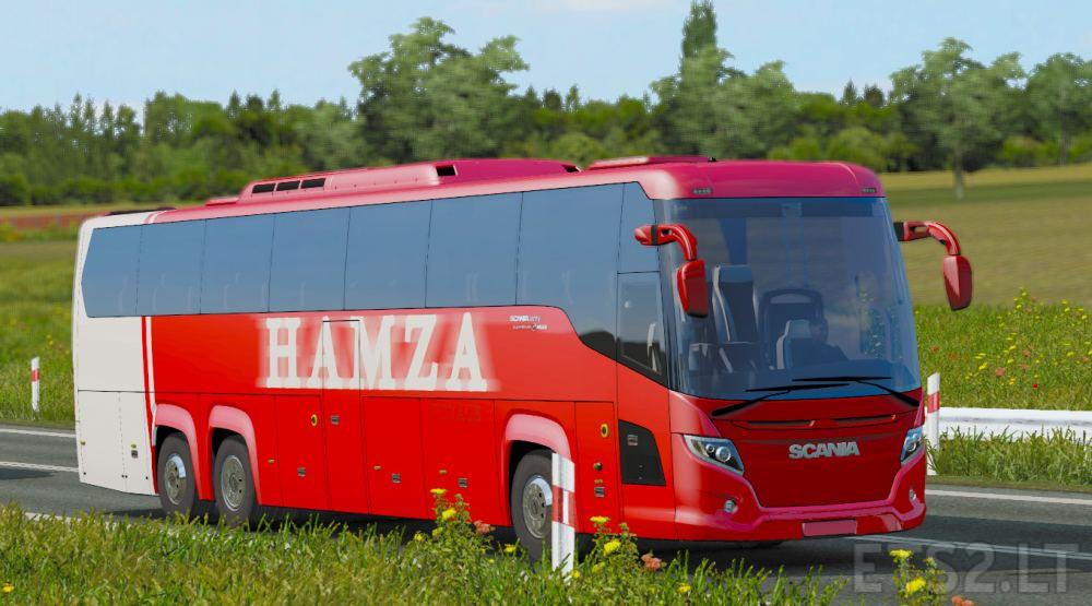 bus scania | ETS 2 mods