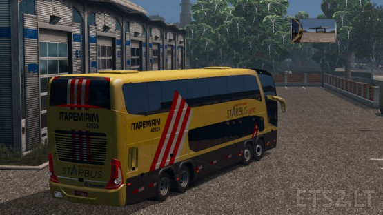 Marcopolo Paradiso G7 1800 DD 8×2 Over game 2019 version   ETS 2 mods