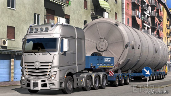 Mercedes Actros Open Pipe Sound Reworked V.2.0