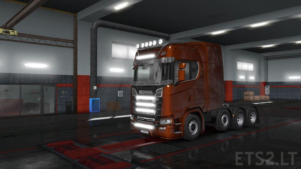 led lights | ETS 2 mods