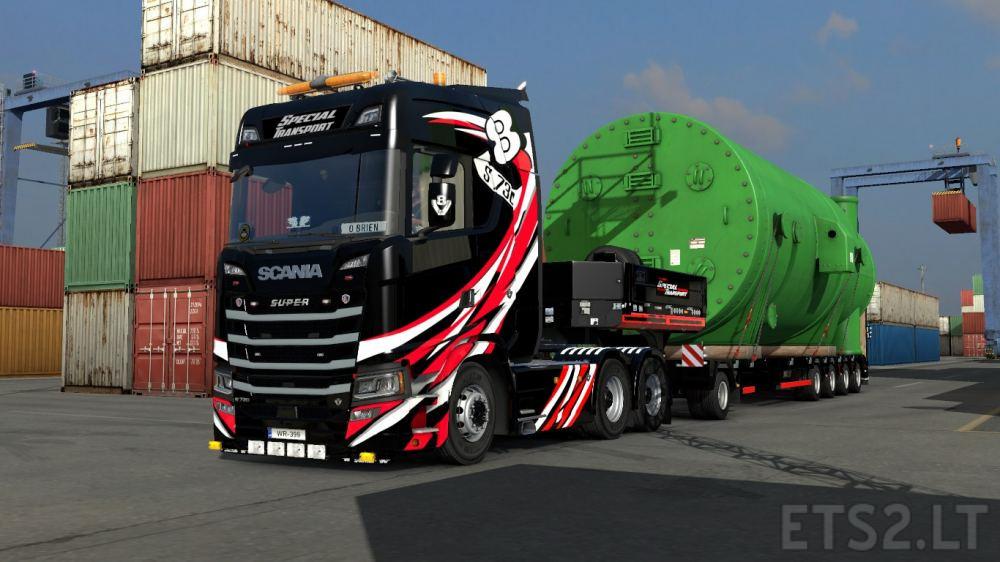 special transport | ETS 2 mods