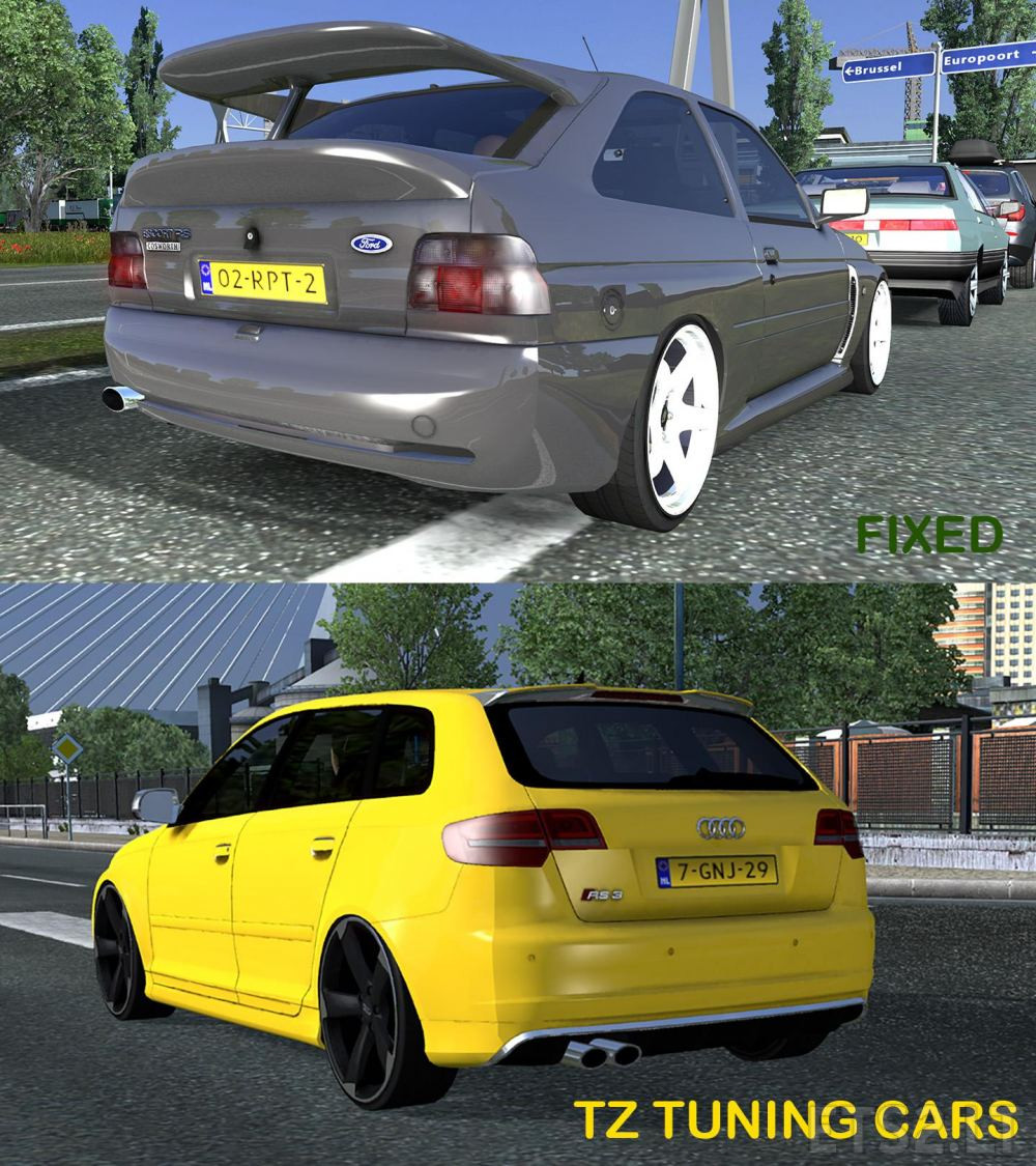 car | ETS 2 mods