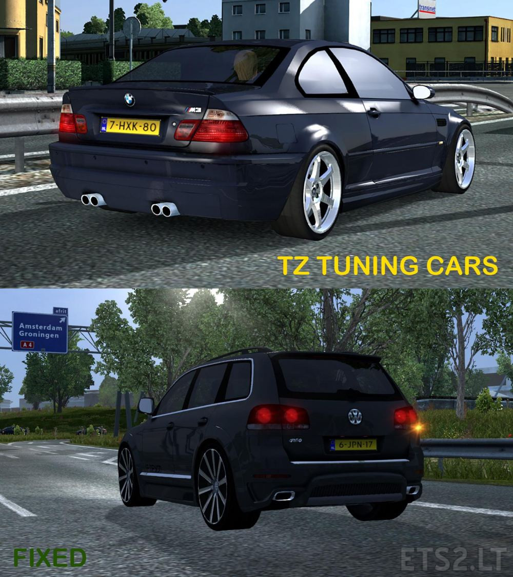 car   ETS 2 mods