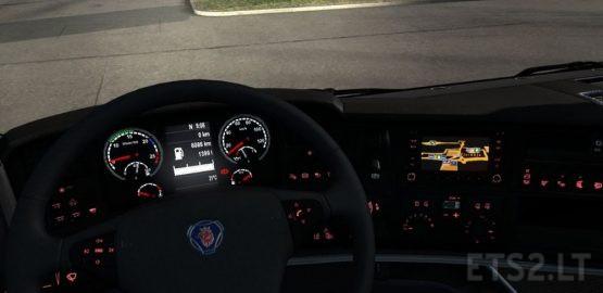FIX SCANIA RJL DASHBOARD AND GPS 1.36