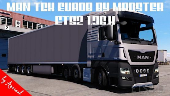 FIX ETS2 1.36.X OF MAN TGX EURO6 MADSTER