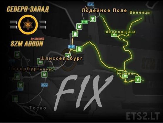 Fix for the Map SZM Addon v 1.0
