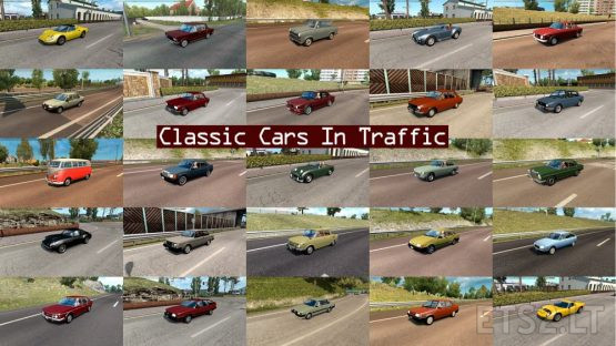 Classic Cars Traffic Pack by TrafficManiac v 4.7
