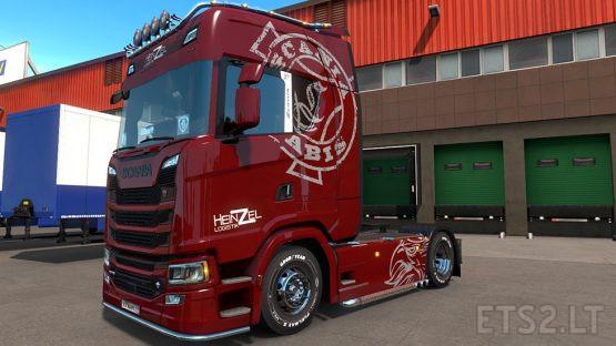 Heinzel Skin for Scania S