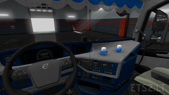 Interior for Volvo FH 2016