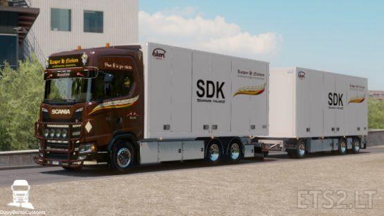 Scania S Kasper H. Nielsen Combo FIX