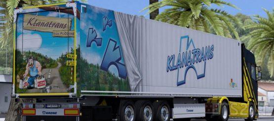 Klanatrans Krone Trailer Skin