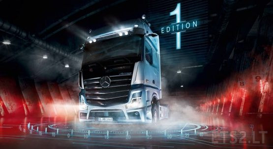 Mercedes Actros MP5 Edition 1 skin [FIXED]