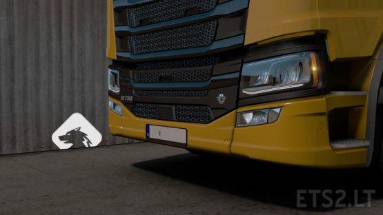 Scania R/S Registration Plate 1.36 | V2