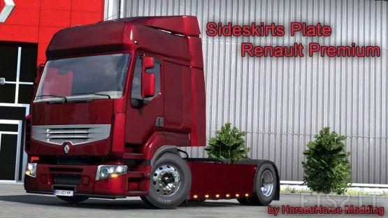 Sideskirts Plate for Renault Premium