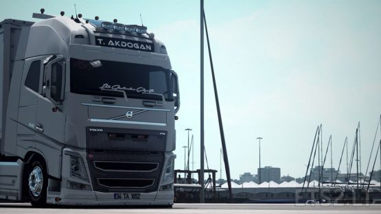 Tanju Akdogan Volvo FH 16 540 1.37