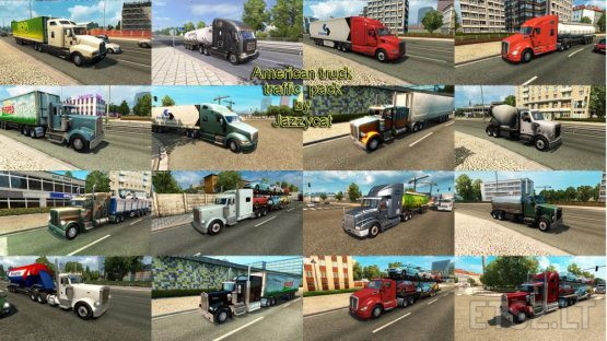 American Truck Traffic Pack by Jazzycat v2.1.1
