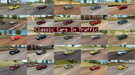 Classic Cars Traffic Pack by TrafficManiac v 4.8