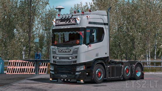Scania R Clouard et Fils
