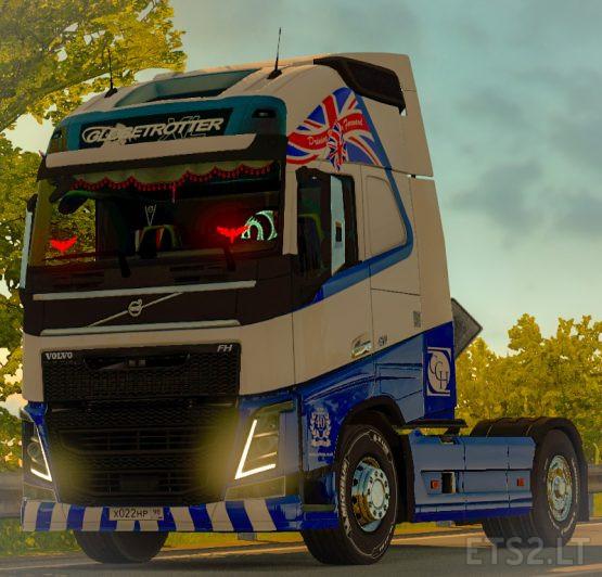 Skin Coltons Transport for Volvo FH 2012 SCS