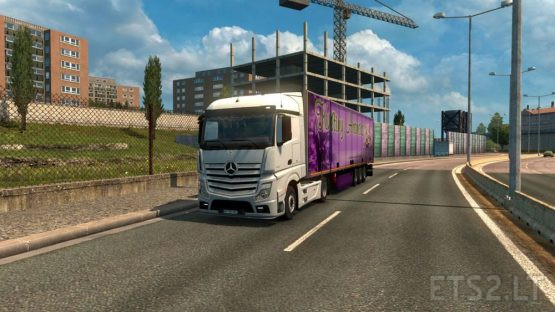 Mercedes Actros MP4 Reworked v2.1 [Schumi] [1.37]