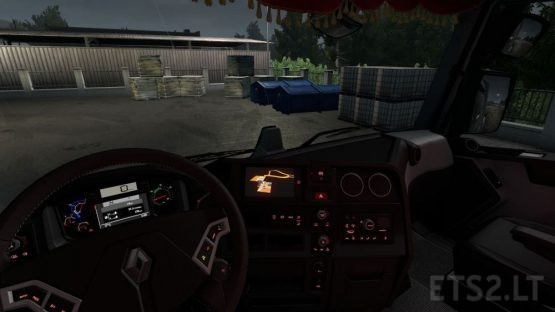 Renault T Range NEW Dashboard and Interior