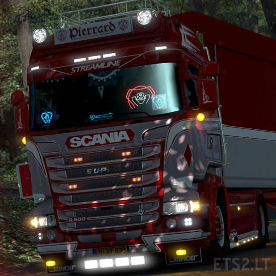 Pierrard Transport Skin for RJL's Scania 6-series Highline