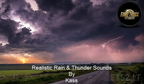 Realistic Rain & Thunder Sounds V3.4