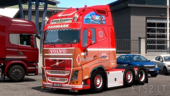 Ronny Ceusters Volvo FH540 Openable Window 1.37.x