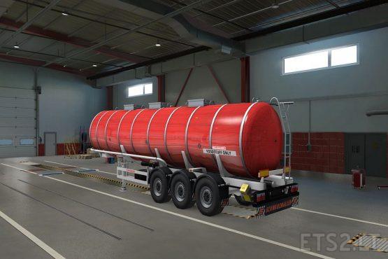 Schwarzmuller Tanker Templates