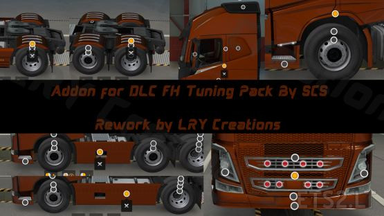 Tuning Addon For DLC FH Tuning Pack