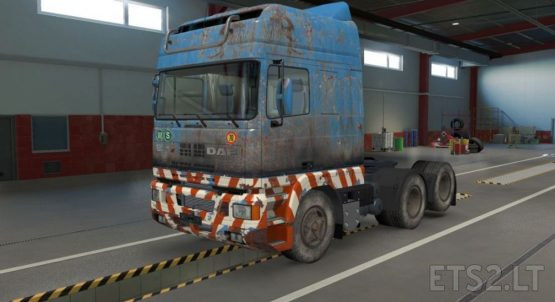 DAF 95 Ati Old Heavy Load Skin