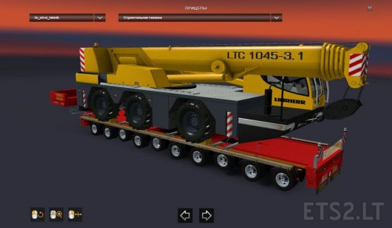 Heavy Cargo Trailers Pack for Russian Open Spaces Map v 7.0