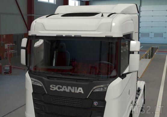 Scania NextGEN NormalRoof Danish Plush RED