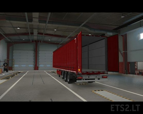 Openable Side Curtain and Back Door (MP-TruckersMP)