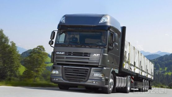 DAF XF 105 REAL PACCAR SOUND