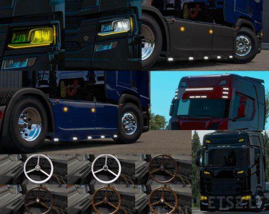 Pack Accessories Scania Next Gen