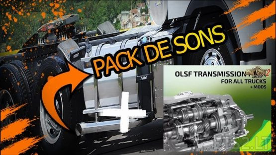 Pack open pipe (ronco) + gerbox (transmissions)