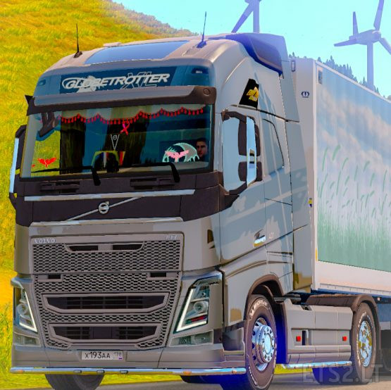 Skin SNT (Power Edition) for Volvo FH 2012 SCS