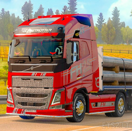 Skin SNT (25 Year) for Volvo FH 2012 SCS