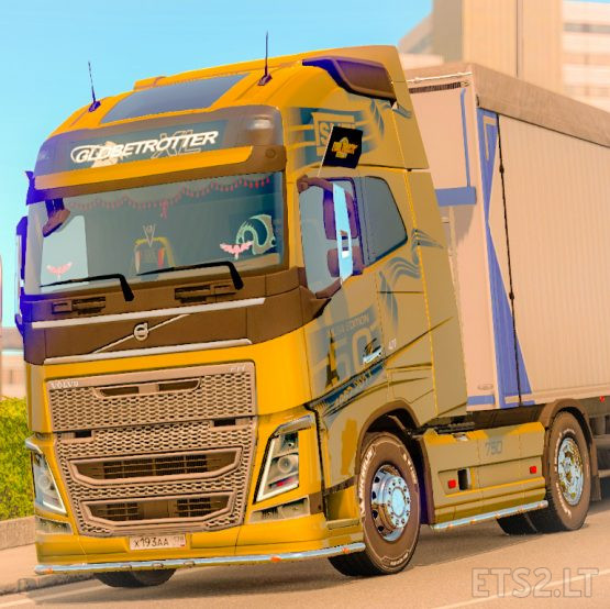 Skin SNT (Ailsa) for Volvo FH 2012 SCS