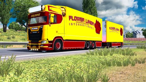 Scania Flower Liner
