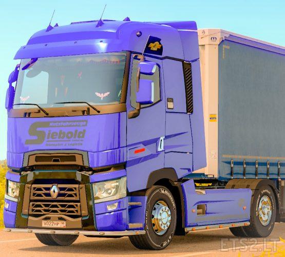 Skin Siebold for Renault T Range SCS