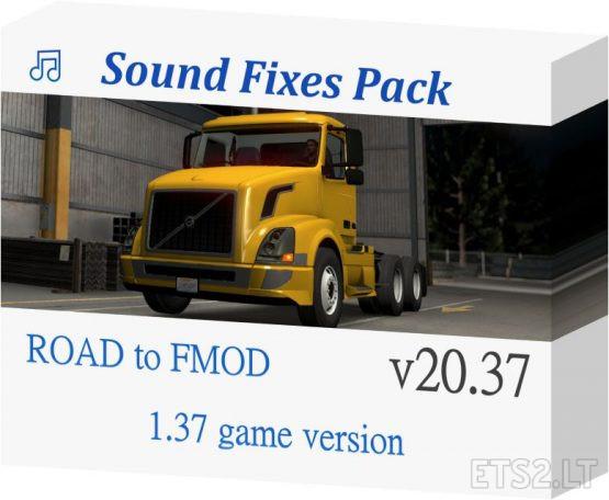 Sound Fixes Pack v 20.37.2