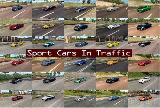 Sport Cars Traffic Pack by TrafficManiac v6.5