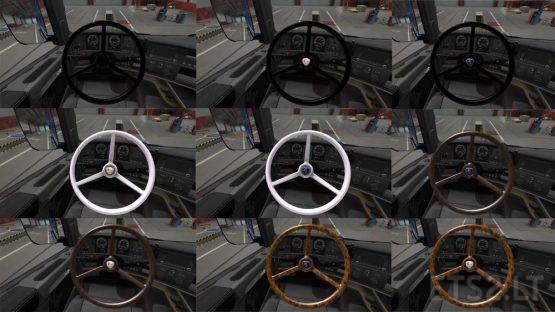 Pack Steering Wheel Vabis for Scania