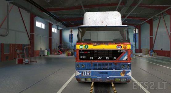 DAF F241 Transport international v 1.1