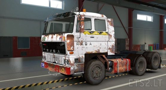 DAF F241 Wood transport skin