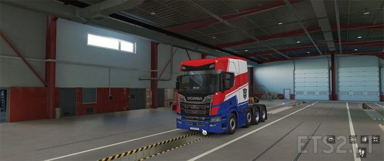 Optimus Prime for Scania R