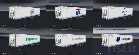 Cargo Pack Reefer Container Freight market + Ownable Trailer by Satyanwesi 1.38 1.37