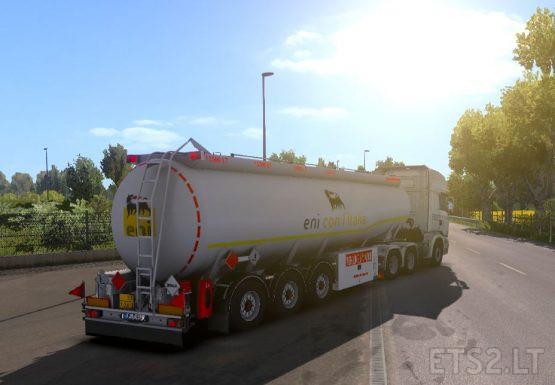 Kassbohrer Tanker Eni Italia skin [1.37]